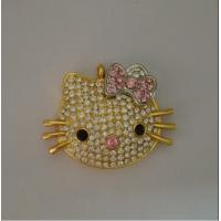Wholesale Cute Cat Jewelry USB Flash Drive , Diamond USB Disk 2.0 2GB 4GB from china suppliers