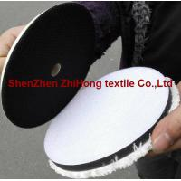 Wholesale High quality woolen/ fleece hookit sanding grinder hook and loop disc pad from china suppliers