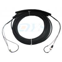 Wholesale Pulling Eye Pre-terminated Optical Fiber Patch Cord , Multimode Fiber Patch Cable from china suppliers
