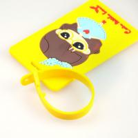 Wholesale fashion 3D soft pvc bag tag from china suppliers