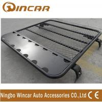 Wholesale 4x4 car roof rack universal car aluminium luggage rack No Frame Gutter mount brackets from china suppliers