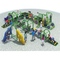 Wholesale High Capacity Steel Playground Equipment Customized Color Meet The Childrens Curiosity from china suppliers