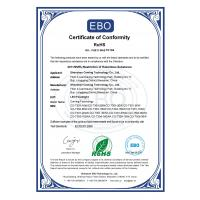 Shenzhen Coming Technology Co., Ltd. Certifications