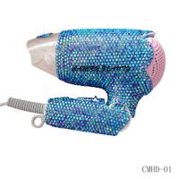 Quality Foldable Swarovski Crystal Hair Dryer-Hair Styling Tools for sale