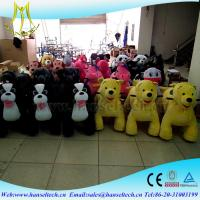 Wholesale Hansel coin operated kiddie rides for sale uk entertainment play equipmentrohs standard luck cow electric motorized from china suppliers