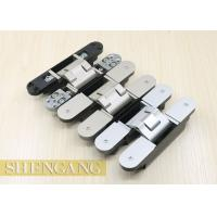 Wholesale Completely Concealed Invisible Door Hinges For Heavy - Duty Doors GB Zinc Alloy from china suppliers