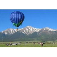 Buy cheap 400kg Blue Commercial Inflatable Hot Air Balloon Rides Sightseeing And Manned Flight Use from wholesalers