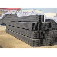 Wholesale Hot Dip Galvanized Square Steel Pipe BS1387 With Threaded And Beveled End Treatment from china suppliers