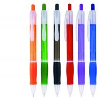 Buy cheap soft grip rubber plastic ballpoint pen for gift use,logo printed rubber grip logo ball pen from wholesalers