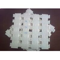 Wholesale White High Tensile Strength Polyester Geogrid for Retaining Wall from china suppliers