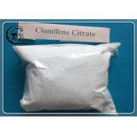 Wholesale White 99% Clomid Anti Estrogen Steroids Clomifene Citrate Raw Powder from china suppliers