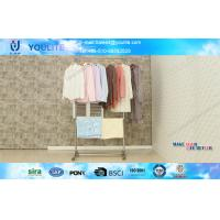 Wholesale Stainless Steel Double Layer Standing Heavy Duty Clothes Drying Rack for Shirt and Towel from china suppliers