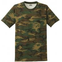 Wholesale Customized Army Camouflage Uniform , Outdoor Fitness Camouflage T Shirts from china suppliers