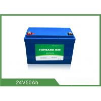 Wholesale 2000 Cycles Life Electric Forklift Battery 24V 50Ah from china suppliers