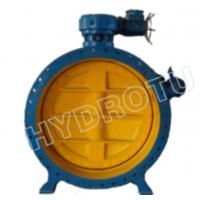 Wholesale Electric/Manual Flanged Butterfly Valve for hydropower station from china suppliers