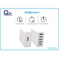 Wholesale EU US UK Plug MTK Pump Express Quick Charger with 5 USB Port for Restaurants from china suppliers
