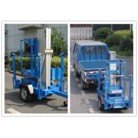 Wholesale Trailer Mounted One Man Lift 8 Meter Hydraulic Aluminium Alloy With 136 kg Rated Load from china suppliers