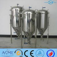 Quality Beer Fermentation Tank With SS304 OR SS316 Has 200L To 5000L for sale