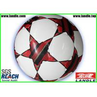 Wholesale New Design Machine - Stitched Synthetic Leather Soccer Ball Standard Size and Weight from china suppliers