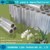 Wholesale 23 micron pallet stretch film lldpe rolls from china suppliers