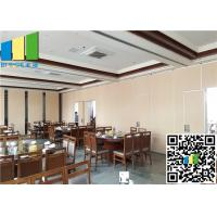 Wholesale White Laminate Finish Sliding Foldable Partition Wall For Meetting Room from china suppliers