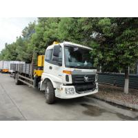 Wholesale factory direct sale FOTON AUMAN 4*2 6ton Truck mounted crane, best price FOTON AUMAN 6tons telescopic truck with crane from china suppliers