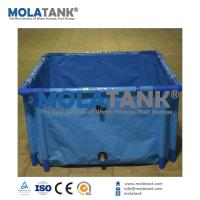 China MolaTank PVC Tarpaulin Collapsible and Foldable Fish-Farming anks for sale on sale