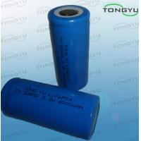 Wholesale Light Rechargeable Lithium Battery 32650 3.2V 4000mAh For Underground Voice Alarm System from china suppliers