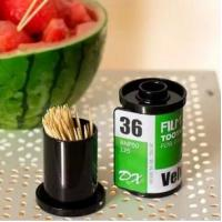 Wholesale The Film Shaped Toothpick Box Household Toothpick Holder from china suppliers