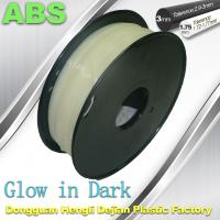 Wholesale Markerbot , RepRap Glow in The Dark 3d Printer Filament  , 3D Printing Filament ABS from china suppliers