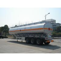 Wholesale 3x12T BPW axle 46000L Aluminum Alloy Petroleum Mobile Fuel Tank Trailer from china suppliers