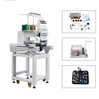 Buy cheap 800*500 Sequin Single Embroidery Machine On 12 Colors With Dahao System from wholesalers