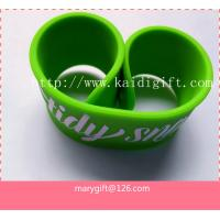 Wholesale Custom Promotional Funny Slap wristband from china suppliers