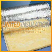 Wholesale Glass wool blanket with foil from china suppliers