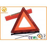 "Wholesale Car Emergency Reflective Warning Triangle with 17""x17""x17""  Size 530 gram Weight from china suppliers"