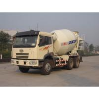 Wholesale 8 - 10cbm Faw Auto Truck Mounted Concrete Mixer 6x4 HZZ5250GJBJF from china suppliers