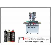 Wholesale Semi Automatic Aerosol Spray Paint Filling Machine For Air Freshener / Refrigerant from china suppliers