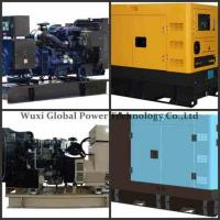 Wholesale Water - Cooled 280kw Emergency Genset Open Electric Starting Perkins Cummins from china suppliers