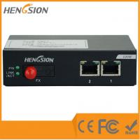 Wholesale Business level Enterprise Network Switch , 2 fast ethernet port and 1 fiber optic port from china suppliers