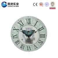 Quality Muticolored Home Products Wooden Wall Clock /Wall Decor/ Wall Decoration For Living Room Supplies for sale