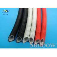Wholesale Silicone Rubber Fiberglass Sleeving Welding Machine Protection from china suppliers