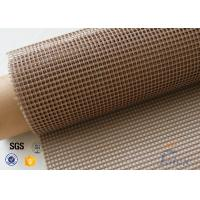 Wholesale 4x4 Brown PTFE Coated Glass Fabric For Printing Machine Conveyor Belt from china suppliers