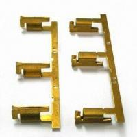 Buy cheap Metal Stamping Part, Made of Beryllium Copper, Used for Transferring Computer Data from wholesalers