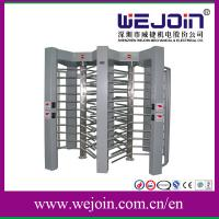Wholesale LED Display Pedestrian Security Gates Controlled Full Height Turnstile from china suppliers