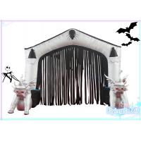 Wholesale 2m(H)*3m(W) Oxford Inflatable Halloween Door for Halloween Decoration from china suppliers