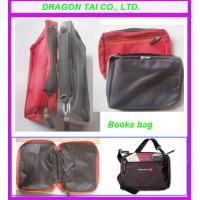 Wholesale Nylon books bag with zipper,  portable book bag, mini book bag, measure 260*180*5mm from china suppliers