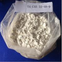 Wholesale Levothyroxine L-Thyroxine / T4 Raw Steroid Powder CAS 51-48-9 for Fat Weight Loss from china suppliers
