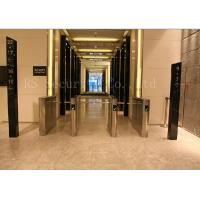 Wholesale Office Access Drop Arm Barrier , Biometric Construction Site Access Control Turnstiles from china suppliers