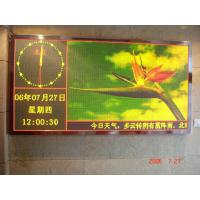 Wholesale Outdoor Single/tri/full color Led Display text sign from china suppliers