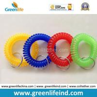 Wholesale Hot Sales Big Quantity Transparent Round Wrist Key Coil Holders from china suppliers